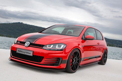 Worthersee 2014: Volkswagen Golf GTI Wolfsburg Edition